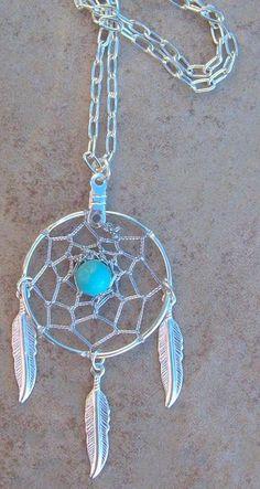 Beautiful dreamcatcher necklace