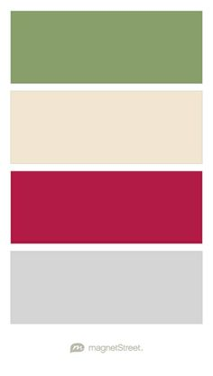 Sage, Champagne, Wine, and Silver Wedding Color Palette - custom color palette created at MagnetStreet.com