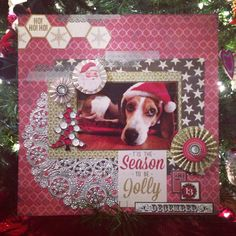 Christmas Layout of Willow:)
