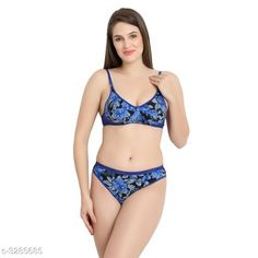 Lingerie Sets Comfy Women's Cotton Lingerie Set Fabric: Cotton Sleeves: Sleeves Are Not Included Size: 30B: Cup Size - Underbust - 25 in To 26 in Overbust - 31 in To 32 in Waist - 28 in Hip - 34 in 32B: Cup Size - Underbust - 27 in To 28 in Overbust - 33 in To 34 in Waist - 31 in Hip - 36 in 34B: Cup Size - Underbust - 29 in To 30 in Overbust - 35 in To 36 in Waist - 33 in Hip - 38 in 36B: Cup Size - Underbust - 31 in To 32 in Overbust - 37 in To 38 in Waist - 37 in Hip - 40 in Type: Stitched Description: It Has 1 Piece Of Bra & 1 Piece of Panty Work: Printed Country of Origin: India Sizes Available: 30C, 32C, 34C, 36C, 30D, 32D, 34D, 36D, 30E, 32E, 34E, 30A, 36E, 32A, 34A, 36A, S, M, L, XL, 30B, 32B, 34B, 36B   Catalog Rating: ★4 (4440)  Catalog Name: Trendy Women'S Cotton Lingerie Set Vol 4 CatalogID_454073 C76-SC1043 Code: 441-3285685-