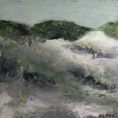 """by Lori Drew, 10"""" x 10"""" oil and cold wax original art. Original Art, Wax, Cold, The Originals, Painting, Painting Art, Paintings, Painted Canvas, Drawings"""
