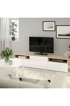 Sala Ikea, Tv Banco, Besta Tv Bank, Honeycomb Paper, Plastic Foil, Knobs And Handles, Steel Doors, Interior Accessories, Storage Spaces