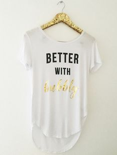 Better with Bubbly Flowy Tee, Bubbly, Graphic tee, Graphic tshirts, Cute tees, Cute shirts
