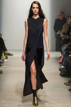Long Black Dress - Maison Rabih Kayrouz   Fall 2014 Ready-to-Wear Collection   Style.com