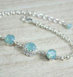 Swarovski crystal braceletWedding Bridal