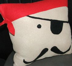 Pirate pillow - buy or make for the little pirate in your life!