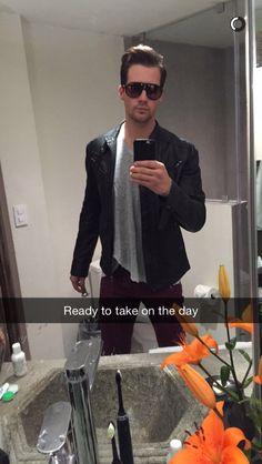 James Maslow via Snapchat. 12/5/15 James Maslow, Big Time Rush, Cute Guys, Kendall, Daughter, Celebrity Guys, Model, David, Aaliyah