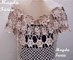 Crochê Magda Faria : Colete Sofia