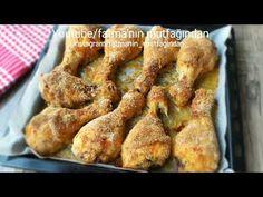 FIRINDA ÇITIR BAGET TARİFİ (Bu tarifi şiddetle tavsiye ediyorum tadına doyamazsınız) - YouTube Chicken Wings, French Toast, Meat, Breakfast, Youtube, Food, Morning Coffee, Essen, Meals