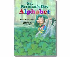St. Patrick's Day Alphabet by Beverly Barras Vidrine, Patrick Soper (Illustrator). St. Patrick's Day books for children.  http://www.apples4theteacher.com/holidays/st-patricks-day/kids-books/st-patricks-day-alphabet.html