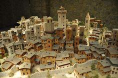 Model of San Gimignano, Italy at the San Gimignano 1300 Museum