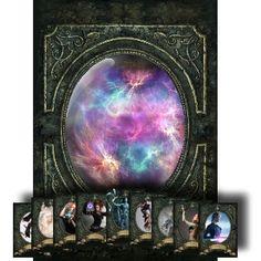 Customizable Magic Character Cards