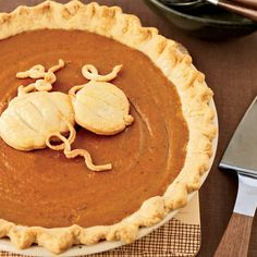 Classic Pumpkin Pie | To create a crisp crust on the bottom, Grace Parisi partially bakes the pie shell before adding the filling. If the edge starts to darken too much, cover it with a pie shield or strips of foil.