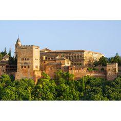 Obraz na płótnie - Alhambra Hiszpania - dostępny w rozmiarach 150x100, 120x90, 90x60, 60x40, 40x26 cm #fedkolor #obraznapłótnie #obraz #obrazzezdjęcia #zdjęcia #wydruknapłótnie #wydrukujzdjęcie #zdjęcianapłótnie #Hiszpania #Alhambra #podróże #wakacje #Spain