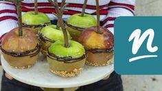 Szezámmagos minikiflik   Nosalty Caramel Apples, Cheesecake, Muffin, Food, Cheesecake Cake, Muffins, Cheesecakes, Essen, Caramel Apple