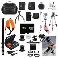 9. Gopro Everything You Need Package for GoPro Hero3+ Kit