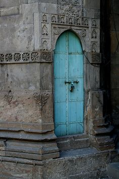 Doors and windows in Asia - India by Rudi Roels, via Flickr--and my other door