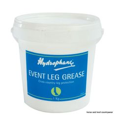 Hydrophane Event Leg Grease Formulated to protect horses legs during the rigours of cross-country events Stays firmly in place during competition.