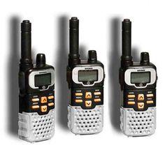 Walkie Talkie batteries last longer and distance is longer also.