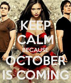 The vampire diaries | Nina Dobrev | Ian Somerhaulder | Paul Wesley. Can. Not. Wait!!!