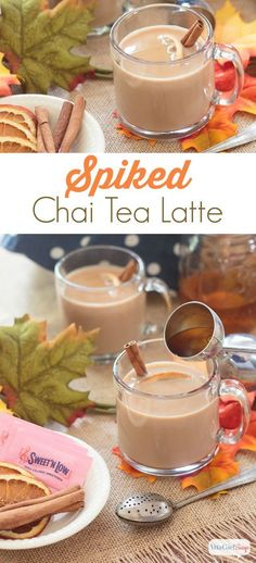 Spiked Iced Soy Chai Tea Recipe — Dishmaps
