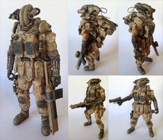 "TOYSREVIL: ""PMMC 27 - Private Military Mech Contractor 27"" in 1/6 by KidAkira"
