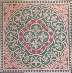 Harbor Farm Victorian Tile Disraeli
