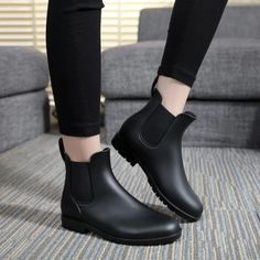 (paid link) How to Style Chelsea Boots   Whether you're opting for a formal or casual look, there are wealth of ways to wear black Chelsea boots. Pair past slim- or skinny-fit jeans and a navy overcoat for a .... >>>Check this useful article by going to the link at the image. Black Chelsea Boots Outfit, Short Rain Boots, Boating Outfit, Buy Shoes, Ankle Boots, Navy Overcoat, Confidence, Top Deals, Vacation Style