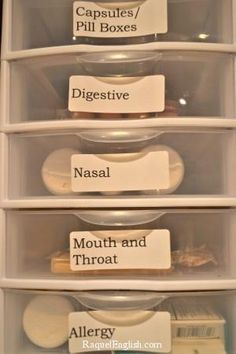 I love this idea. I have to go through a huge box to find what I need. Putting them in a category would be a BIG time saver