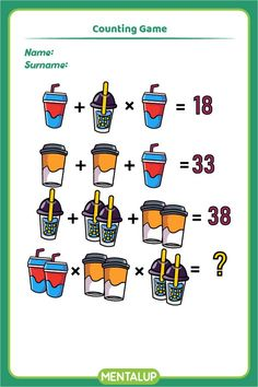 Just click on the pin and find more math printables to boost your skills!🥳 8th Grade Math Games, Brain Training Games, Brain Activities, Educational Games, Algebra, Online Games, Fun Workouts, Printables, Student