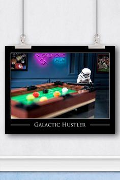 Star Wars™ LEGO® Art: Trooper Hustling at the Pool Table