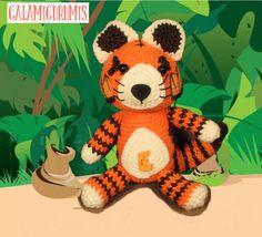 Tigre E Amigurumi a Crochet - Patrón Gratis en Español