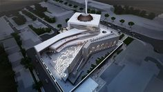 - Proposal of a Mosque Form Architecture, Mosque Architecture, Parametric Architecture, Futuristic Architecture, Central Mosque, Islamic Center, Arch Model, Beautiful Mosques, Cultural Center