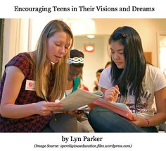 Realizing dreams can come true is something adults probably struggle with more than teens.  For youth, the sky is the limit and as parents and youth workers, we are uniquely positioned to help encourage and support them in achieving those dreams.