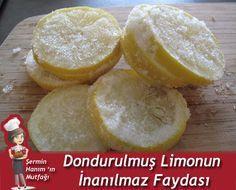 Dondurulmuş limonun inanılmaz faydası. Limonu ziyan etmeden tamamını kullanın