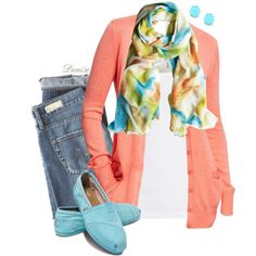 A fashion look from February 2013 featuring Old Navy cardigans, Splendid tops and AG Adriano Goldschmied jeans. Browse and shop related looks.
