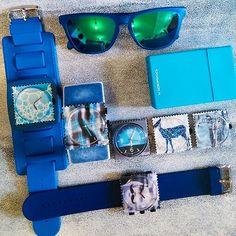 Środa w odcieniach blue ;-) www.timeto.com.pl