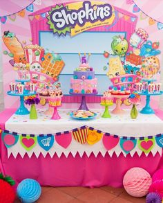 SHOPKINS #partysupplies JUST IN!!!! We have everything you need, from Invitations, Tableware, Plates, Napkins, Cups and even Pinatas to throw the best party, all for the best prices in town!