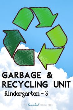 FUN Garbage and Recycling Lesson Plans for Kindergarten, Preschool, Elementary Garbage and recycling unit for Great hands-on ideas for your Earth Day lesson plans or science unit! Lessons For Kids, Science Lessons, Geography For Kids, Homeschool Blogs, Kindergarten Lesson Plans, Resource Room, Unit Studies, Teacher Resources, Planer