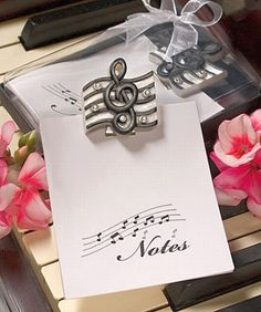 Love Note Wedding Event Musical Theme Party Favors | MonsterMarketplace.com Keywords: #weddings #jevelweddingplanning Follow Us: www.jevelweddingplanning.com  www.facebook.com/jevelweddingplanning/