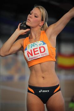 Dutch track and field athlete Nadine Broersen