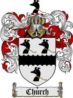 Church Family Crest / Church Coat of Arms