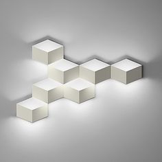 Fold LED Multi Wall Light by Vibia at Lumens.com