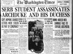 Image result for assassination of archduke franz ferdinand