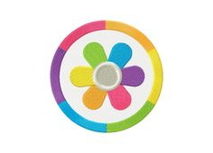 Rainbow Madness Flower Machine Embroidery Design