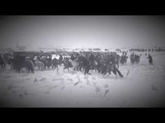 Chief Bigfoot Band Memorial Riders Arrive at Wounded Knee - YouTube
