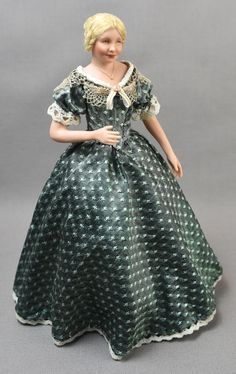 1850-1859 in 1:12 scale.  She will be with me in Chicago 2018!