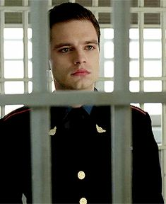 Being put in a cage...by Seb. I'm not sure if I would be mad about that. 😍😅