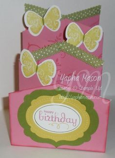 Cascade card by Yapha