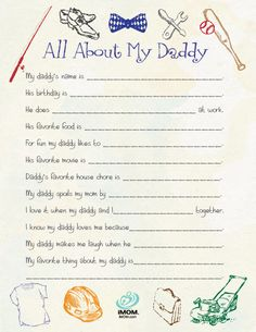 All About My Daddy